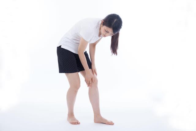 膝の痛み画像